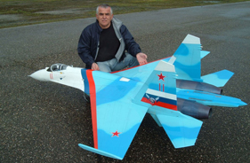 Kit SUKHOI 27 CHRISTIAN HERIT - Jet radio-commandé - Aviation Design